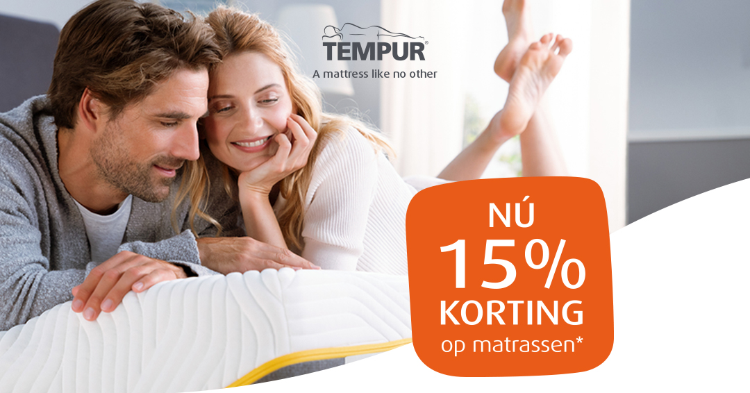 Matrassenreus - Tempur-matrassen nu aan -15%