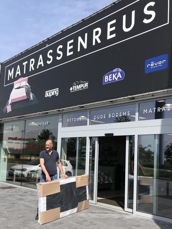 Matrassenreus - Onze winkel gaat terug open vanaf 11/05